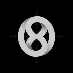 O8 Or 8o Letter Logos