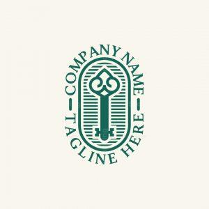 Old Key Logo