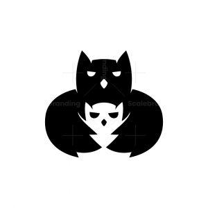Owl Family Logo