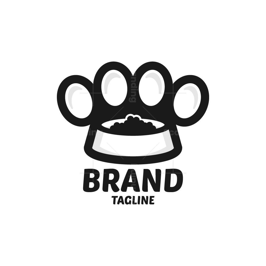 Paw Food Logo