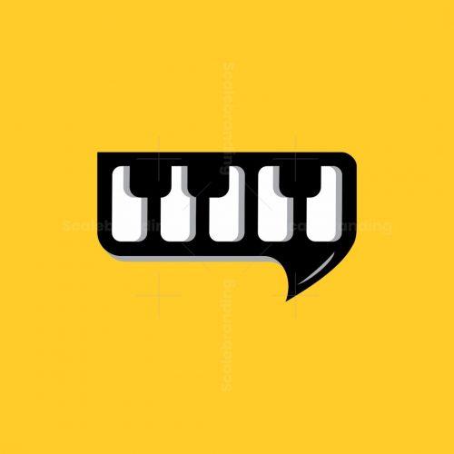 Piano Chat Logo