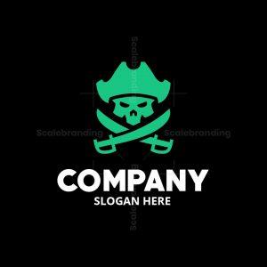 Pirate Skull Logomark