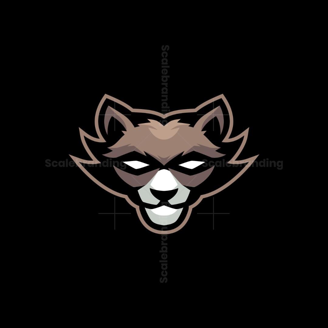 Racoon Mascot Logo