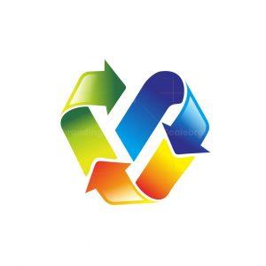 Recycle V Logo