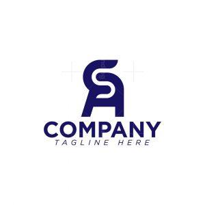 Sa Or As Monogram Logo