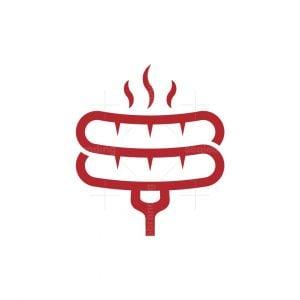 Sausage Letter S Logo