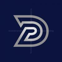 Silver Letter D Or Dp Logo