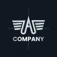 Silver Wings A Logo