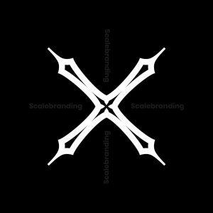Elegant X Letter Logos