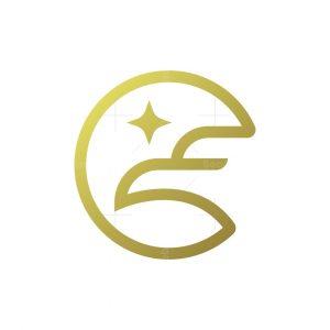Simple Eagle Logo