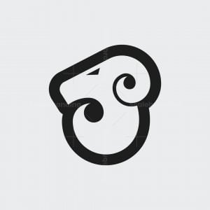 Simple Ram Logo