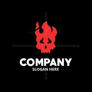 Fire Skull Logomark