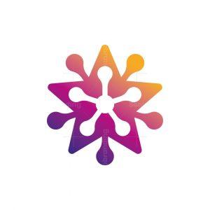 Star Molecular Logo