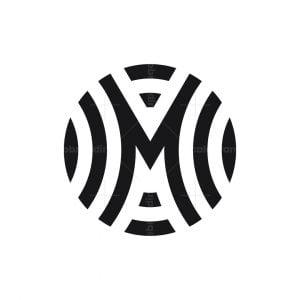 Stylish M Logo