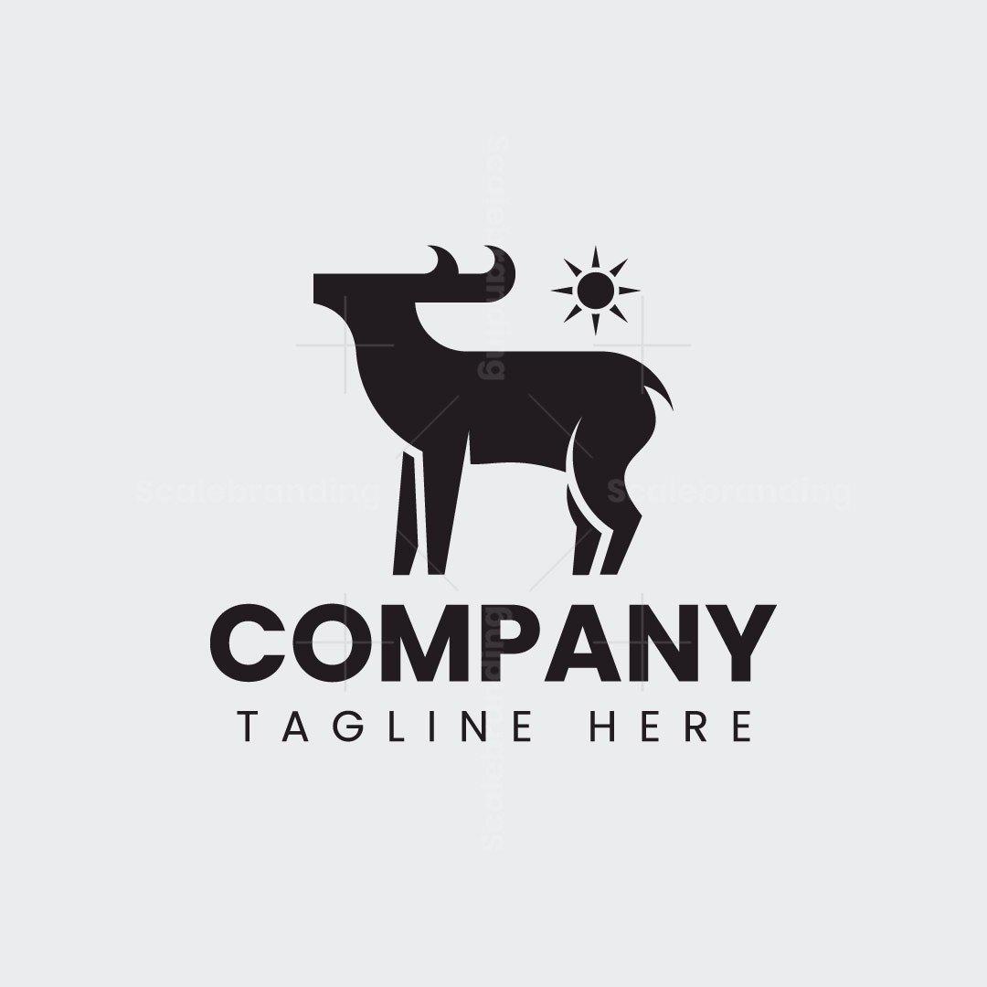 Stylized Deer Logo