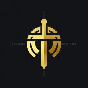 Sword T Letter Logo