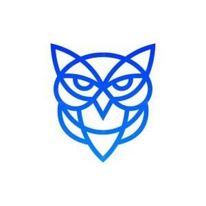 The Minimalist Owl Logo