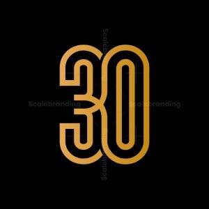 Thirty 30 Logo