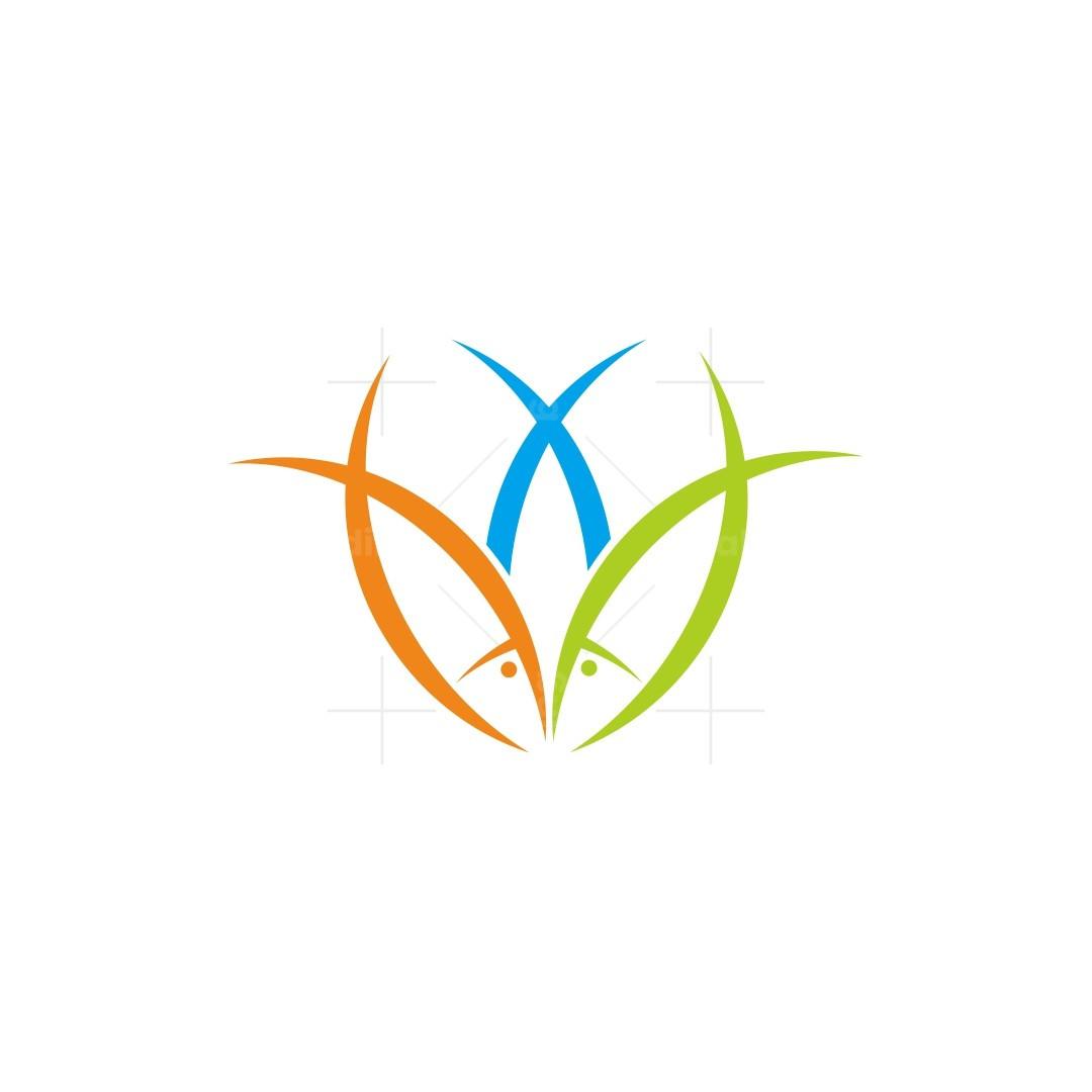 Three Fish Logo