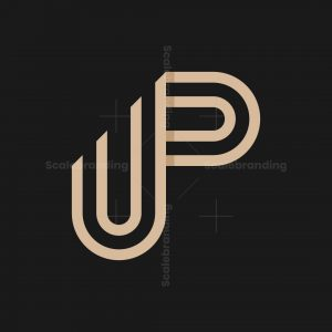 Up Letters Logo