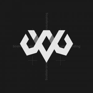 Vw Or Wv Monogram Logo