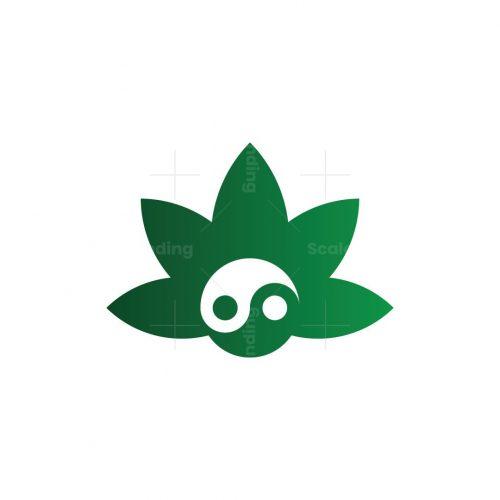Yin Yang Cannabis Logo