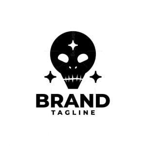 Alien Skull Logo