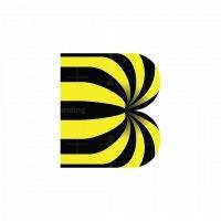 Striped B Logo