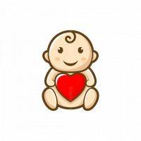 Baby Love Mascot Logo
