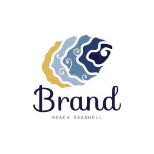 Beach Seashell Logo