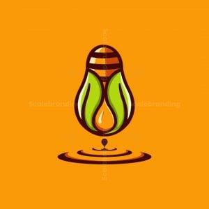 Bee Drop Leaf Logo