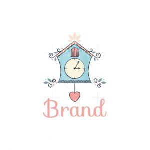 Birdhouse Clock Logo