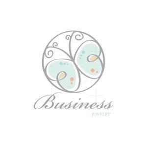 Butterfly Flutter Jewelry Logo