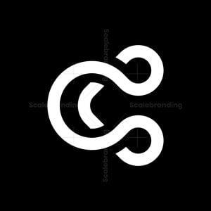 Letter C Simple Monogram Logo