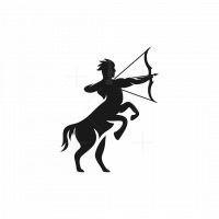 Centaur Archery Silhouette Logo