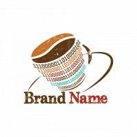 Coffee Shop Coding Logo