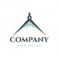 Compass Peak Architecture Symbol Logo