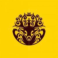 Deer Ornament Logo