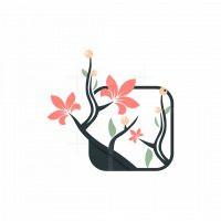 Flower Gardening Logo