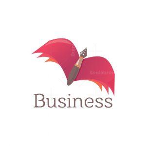 Flying Book Logo