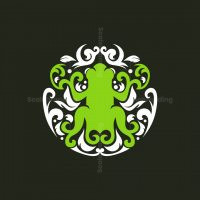 Frog Ornament Logo