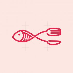 Cutlery Fish Logo