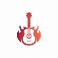 Guitar Fire Logo
