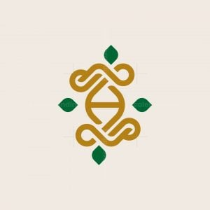Letter H Luxury Ornament Monogram Logo
