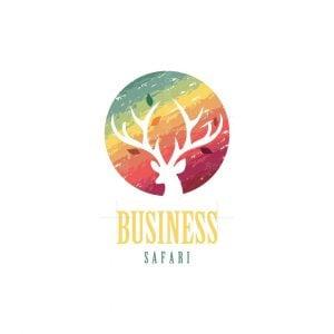 Jungle Sunset Safari Logo