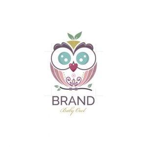 Junior Baby Owl Logo