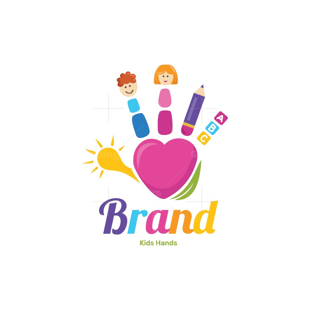 Kids Hands Logo