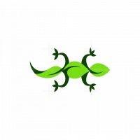 Lizard Leaf Logo