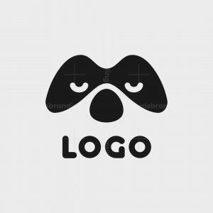 Masked Dog Console Logo