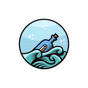 Messenger Bottle Logo